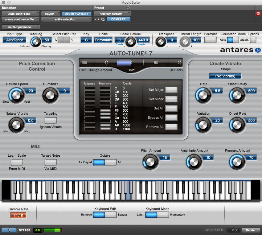 Aut-Tune AudioSuite
